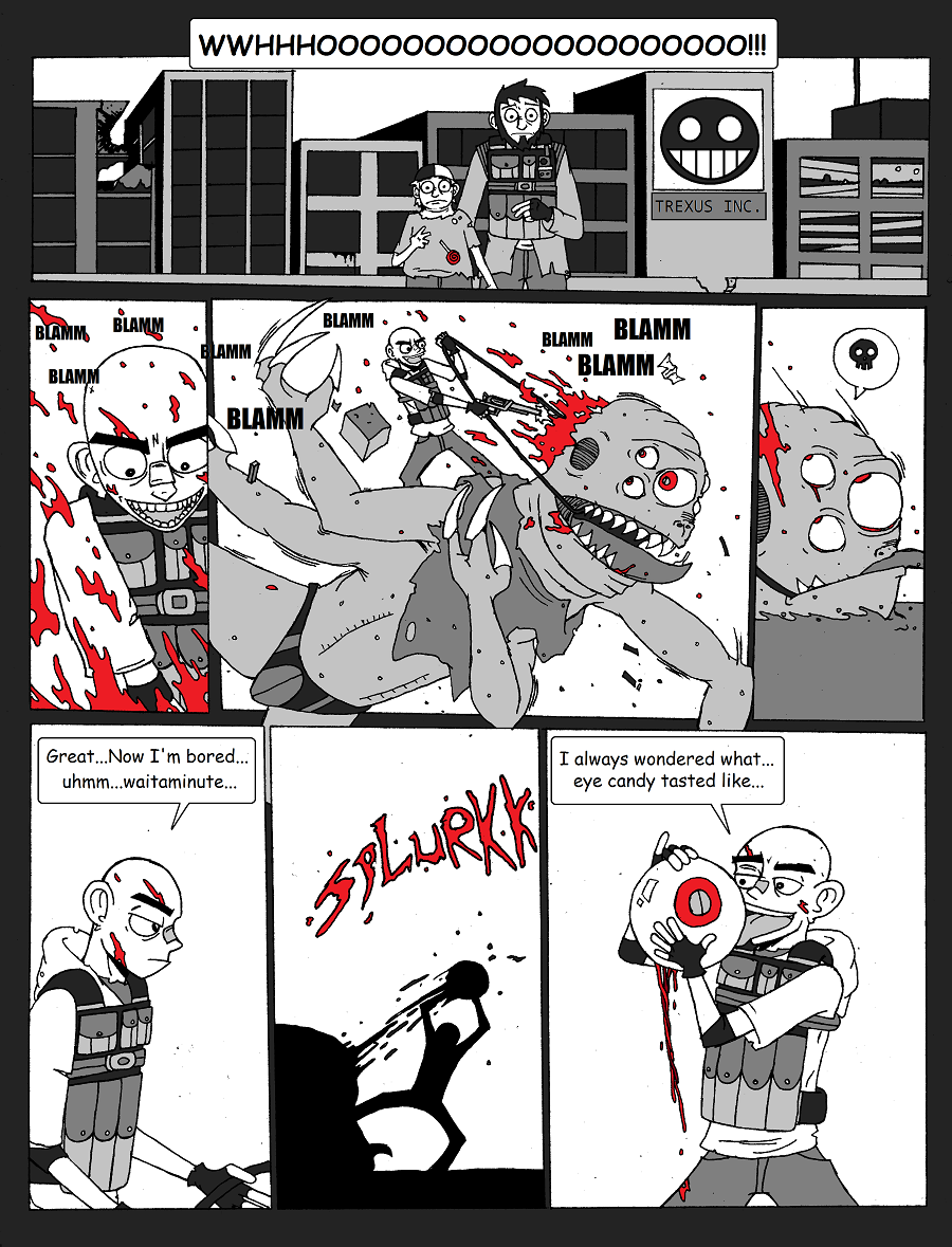 Niko's guardians of the grey DA collaboration intro page1